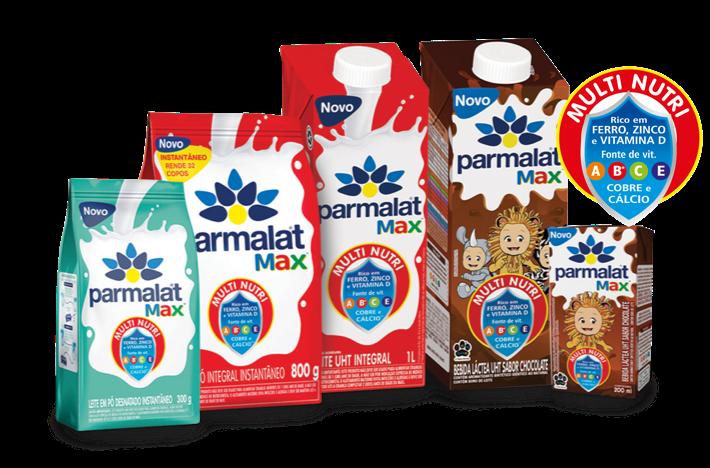 Linha Parmalat Max