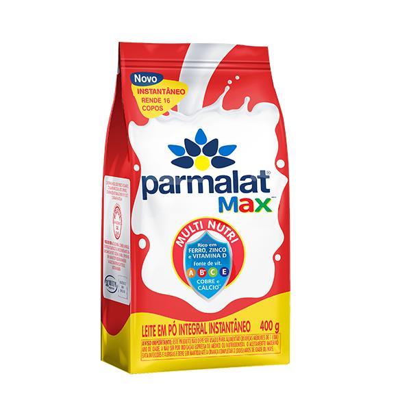 Leite Pó Integral Instantâneo Parmalat Max 400g