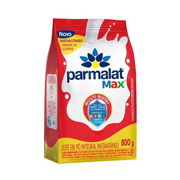 Leite Pó Integral Instantâneo Parmalat Max 800g