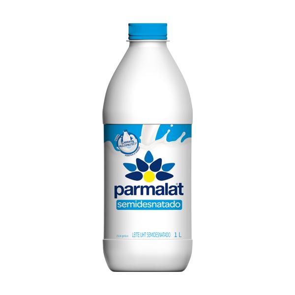 Leite Parmalat Semidesnatado 1L