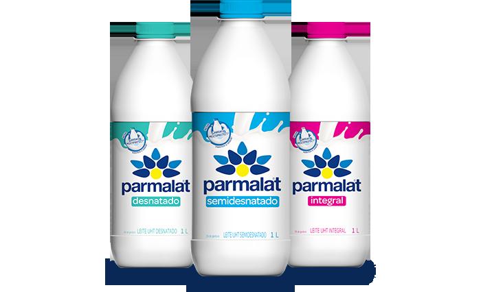 Pack Produtos Linha Parmalat Regular Garrafa