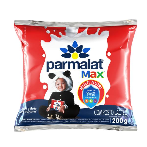 Parmalat Max com Leite Integral 200g