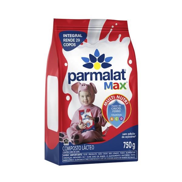 Parmalat Max com Leite Integral
